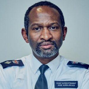 Chief Superintendent Ade Adelekan - Head of Met. Police Violent Crime Task Force